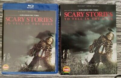 Scary Stories to Tell in the Dark (Blu-ray and DVD, 2019) Del Toro - No Digital