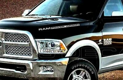 Power Wagon Hood Body Decal OEM 2PC Set New Fits Ram 1500 2500 3500 HD