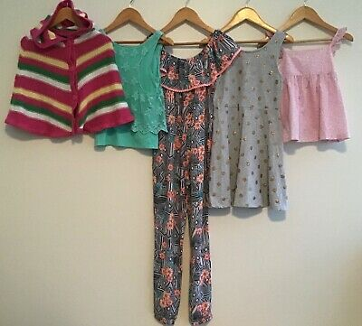 Girls Bundle 8-9 Primark H&M George Lilly Rose <H8663