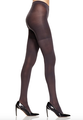 SPANX - Luxe Leg 60 Denier Opaque Shaping Tights, CHARCOAL GRAY, Size D