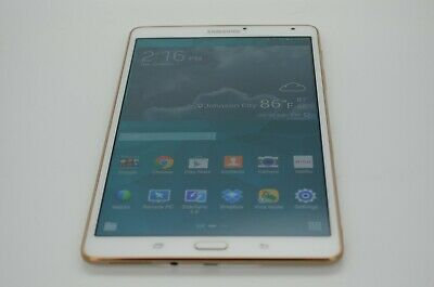 Samsung Galaxy Tab S SM-T700 16GB, Wi-Fi, 8.4in - Dazzling White Great Cond!