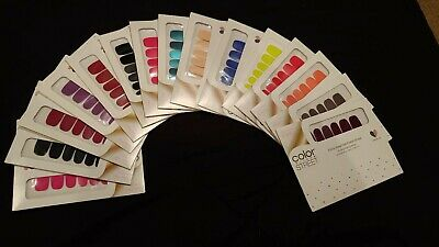 Color Street 100% Real Nail Polish Strips - Solids