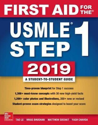 First Aid for the USMLE Step 1 2019 REQUESTED MEDICAL SCHOOL BOOK