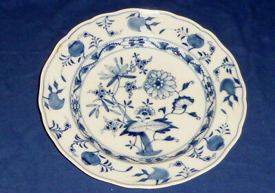 Old Meissen Onion Pattern Dining Plate Indian Blue Dinner Knauf Time