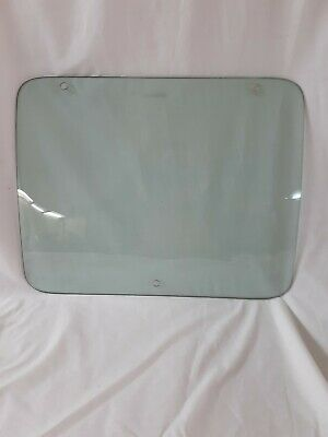 "1970's 1974 DODGE Van pop out Rear or Side Door Window Glass 21""w x 16-5/8"" t"