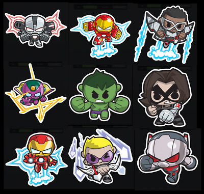 Topps Marvel Collect Card Trader Mini Heroes Series 2 [Set 9 Cards]