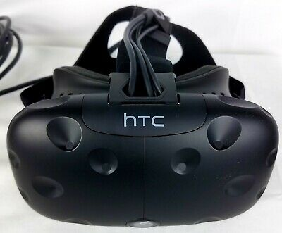 HTC Vive VR Headset Only - (Great Shape, Tiny Crack Outer Plastic)