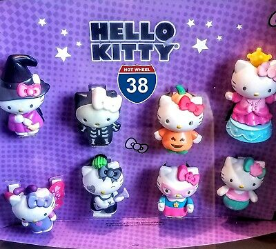 2019 McDonalds Happy Meal toy Halloween Hello Kitty complete set  UNOPENED