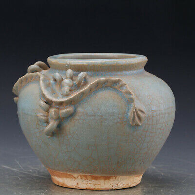 Chinese ancient antique hand make POT Porcelain decoration G4