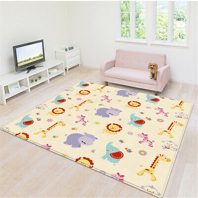 AU 2M*1.8M Double-Sided Floor Play Mat Carpet Crawling Game Infant Baby Kids Rug