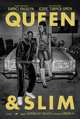 K-134 Queen & Slim Movie Daniel Kaluuya Art Silk Poster 27x40 20x30