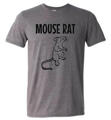 Mouse Rat T Shirt Funny Parks and Rec Band Andy Dwyer Ron Swanson