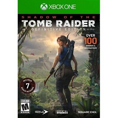 Square Enix Shadow of the Tomb Raider: Definitive Edition