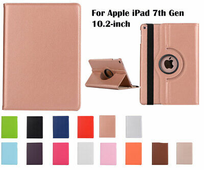 360°Rotate PU Leather cover case for Apple iPad [7th Gen] 10.2 - inch