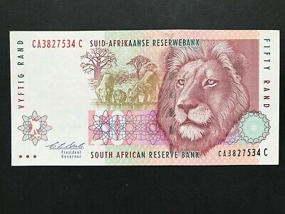 South Africa 50 Rand issued 1992 P125b Uncirculated UNC