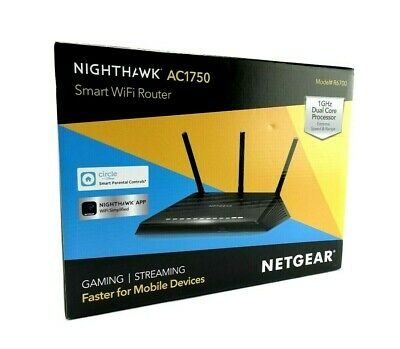 NETGEAR Nighthawk AC1750 (R6700V3) Smart WiFi Router (Up to 1750Mbps)