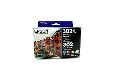 Epson T302XL Claria Ink Cartridge Multi-Pack - High Cap. Black & Color CMYK