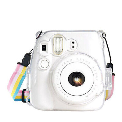 for Fujifilm Instax Mini 8 Mini 8+ Mini 9 Camera Case Bag Cover - Transparent UK
