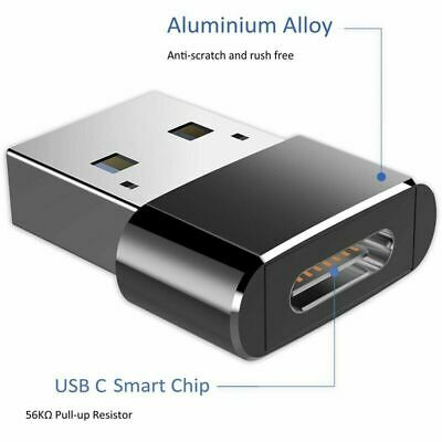 USB 3.0 (Type-A) Male to USB3.1 (Type-C)Female Converter Adapter Connector CA w7