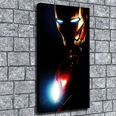 """12""""x22""""Dark man of iron HD canvas home decor wall art paintings pictures photo"""