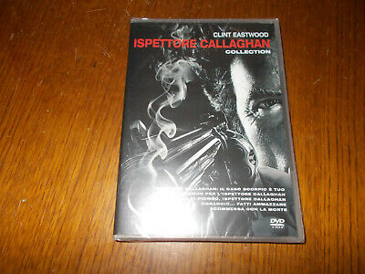 Lotto 5 Dvd L'ispettore Callaghan Serie Completa - Clint Eastwood