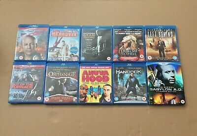 BLU RAY Selection of 15 Films / Movies - A varied mix for all the family! Good
