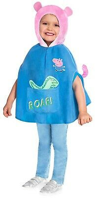 Boys Girls Official George Pig Peppa Pig Book Day Fancy Dress Costume Outfit