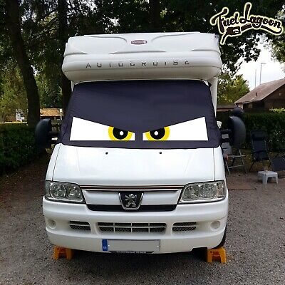 Black Out Blind Screen Cover Ducato Boxer Relay Motor home 93-06 Camper Van Eyes