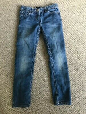 Mini Boden Girls Jeans - Mid Blue Wash - Age 8yrs