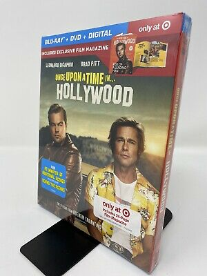 Once Upon A Time In Hollywood (Target Exclusive) (Blu-Ray + DVD + Digital)