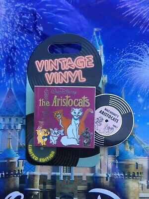 Disney Parks Vintage Vinyl The Aristocats Pin LE3000 New In Hand