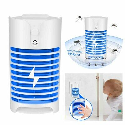 Electric UV Insect Killer Mosquito Fly Pest Bug Zapper Catcher Trap LED Lamp UK