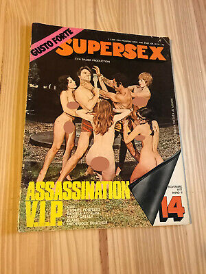 Fotoromanzo-Supersex N.14-Eva Bauer Production