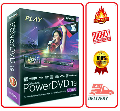 🔥🔥 Cyberlink PowerDVD Ultra 19 ☑Lifetime Version☑Low Price ☑Fast Delivery🔥🔥