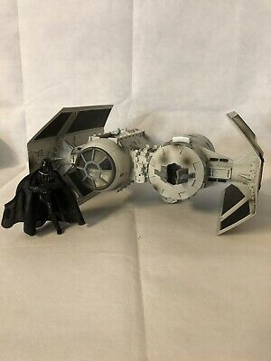 Star Wars Tie Bomber Fighter 2002 Hasbro Empire Strikes Back Lucas Film 12""