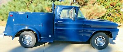 1961 Chevrolet Pickup Custom Pacific Bell Utility Body 1961 Chevrolet 1/2 Ton 6-Cylinder RWD Pickup with Pacific Bell Utility Body