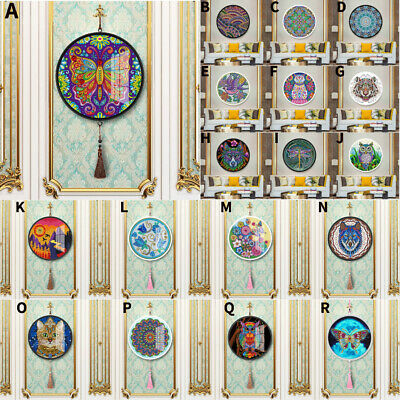 DIY Diamond Painting Special Shape Drawing Paper Kits Tassels Home Decoration #Z
