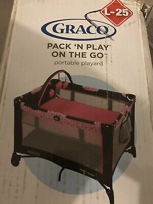 Graco Pack 'n Play Playard On the Go  Baby Playpen New