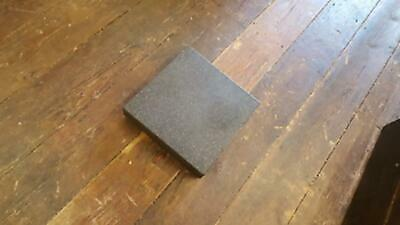 "Beautiful Axiom 12 x 12"" Granite Engineers Surface Plate Grade 0 22328 with cove"
