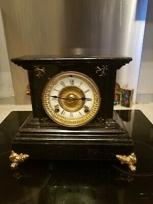 Antique Rare Ansonia 1894  Mantle Clock  Spares And Repairs