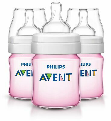 Philips Avent Anti-colic Baby Bottles , 4 Ounce (3 Count)