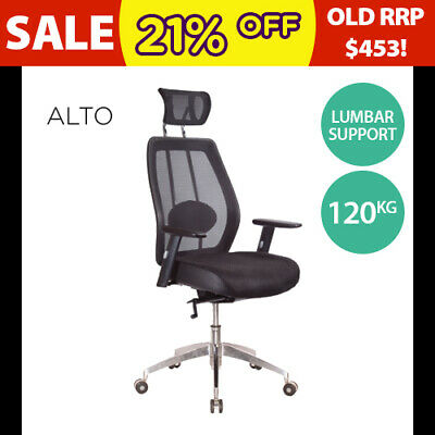 Office Chair Executive Gaming Chairs Mesh Computer Home Arms Headrest Support