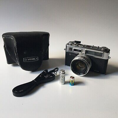BUNDLE Yashica Electro 35 GSN chrome 35mm film camera - EXCELLENT