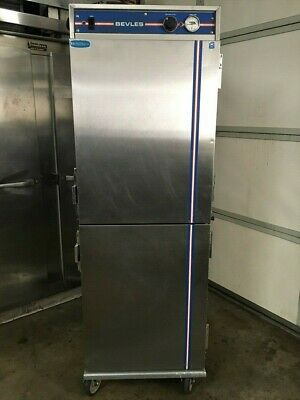 Bevles - 3 Door Pass Thru Convection Heated Holding Cabinet w/Humidity