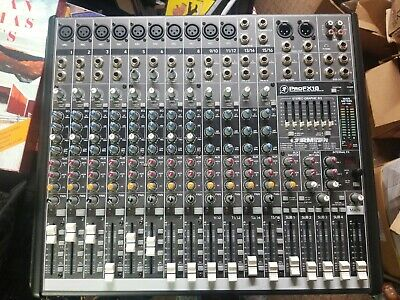 Mackie Mixer Profx16 professional mic/line mixer with FX