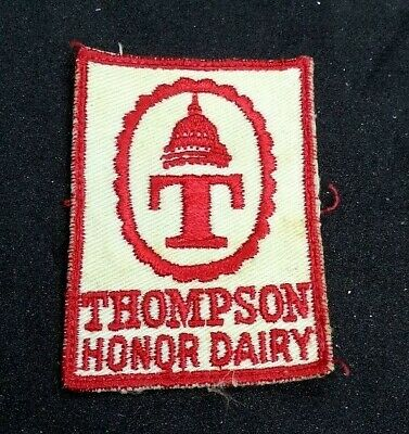 Borden Dairy Late 1960/'s Vintage 23 Year Safe Worker Uniform Shield Patch NEW!!