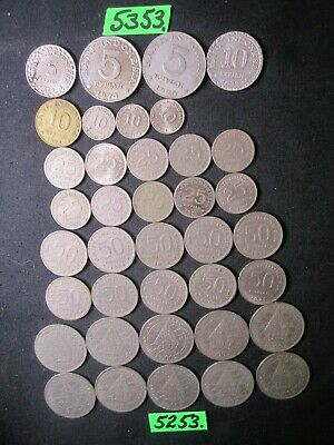 38 x  CULLED coins  Indonesia       70  gms      Mar5253