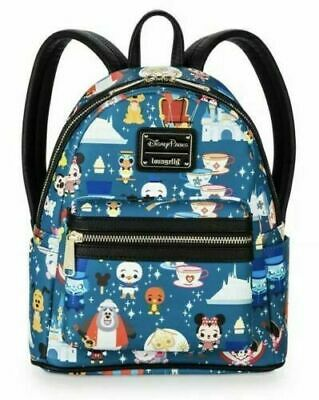 BRAND NEW Disney Parks Magic Kingdom Attractions Mini Backpack Loungefly