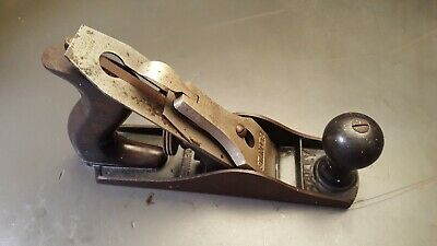 Vintage Stanley Bailey No. 3 Wood Plane Made In USA