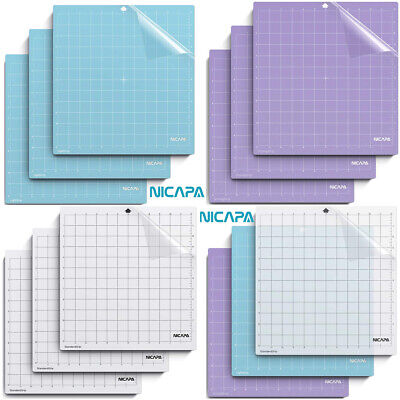 """Nicapa Cutting Mat for Silhouette Cameo Vinyl Crafting Variety Adhesive Grid 12"""""""